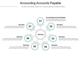 Accounting Accounts Payable Ppt Powerpoint Presentation Show Design Ideas Cpb