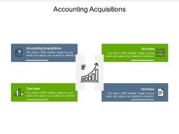 Accounting Acquisitions Ppt Powerpoint Presentation Icon Gallery Cpb