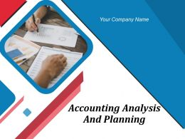 Accounting Analysis And Planning Powerpoint Presentation Slide