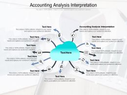 Accounting Analysis Interpretation Ppt Powerpoint Presentation Styles Summary Cpb