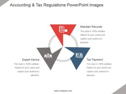 Accounting And Tax Regulations Powerpoint Images