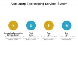 Accounting Bookkeeping Services System Ppt Powerpoint Presentation Portfolio Grid Cpb