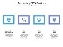 Accounting BPO Services Ppt Powerpoint Presentation Styles Visual Aids Cpb