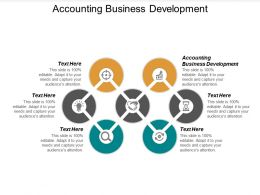 Accounting Business Development Ppt Powerpoint Presentation Show Backgrounds Cpb