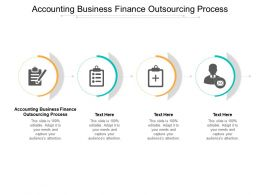 Accounting Business Finance Outsourcing Process Ppt Powerpoint Presentation Outline Graphic Tips Cpb