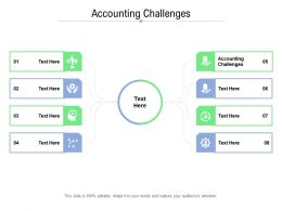 Accounting Challenges Ppt Powerpoint Presentation Diagram Images Cpb