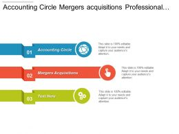 Accounting Circle Mergers And Acquisitions Professional Services Companies Business Strategy Cpb