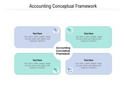 Accounting Conceptual Framework Ppt Powerpoint Presentation Examples Cpb
