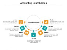 Accounting Consolidation Ppt Powerpoint Presentation Professional Guidelines Cpb