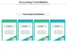 Accounting Consolidation Ppt Powerpoint Presentation Slides Inspiration Cpb