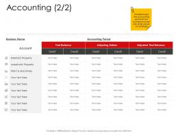 Accounting Corporate Management Ppt Professional
