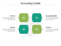 Accounting Credits Ppt Powerpoint Presentation Icon Designs Cpb