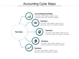 Accounting Cycle Steps Ppt Powerpoint Presentation Pictures Slides Cpb