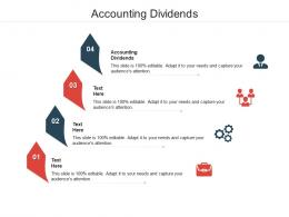 Accounting Dividends Ppt Powerpoint Presentation Outline Ideas Cpb