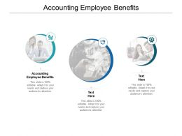 Accounting Employee Benefits Ppt Powerpoint Presentation Layouts Cpb