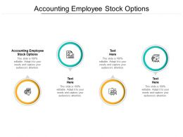 Accounting Employee Stock Options Ppt Powerpoint Presentation File Tips Cpb
