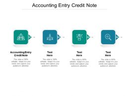 Accounting Entry Credit Note Ppt Powerpoint Presentation Portfolio Graphics Template Cpb