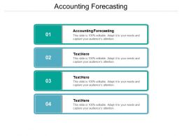 Accounting Forecasting Ppt Powerpoint Presentation Inspiration Professional Cpb