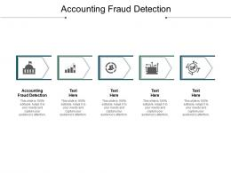 Accounting Fraud Detection Ppt Powerpoint Presentation Gallery Outline Cpb
