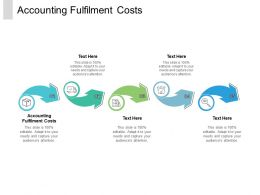 Accounting Fulfilment Costs Ppt Powerpoint Presentation Ideas Grid Cpb