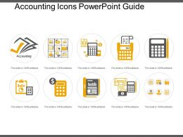 Accounting Icons Powerpoint Guide