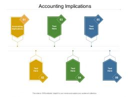 Accounting Implications Ppt Powerpoint Presentation Infographic Template Design Cpb