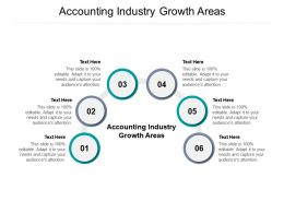 Accounting Industry Growth Areas Ppt Powerpoint Presentation Ideas Themes Cpb