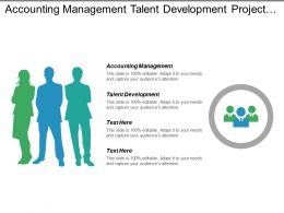 Accounting Management Talent Development Project Management Business Continuation Cpb