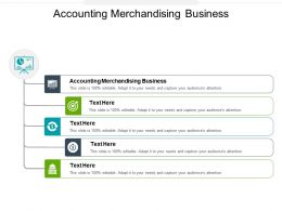 Accounting Merchandising Business Ppt Powerpoint Presentation Icon Cpb