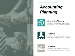 Accounting Planning Ppt Powerpoint Presentation Ideas File Formats Cpb