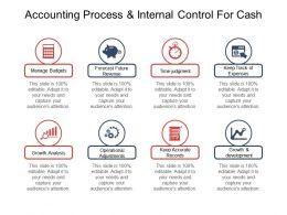 Accounting Process And Internal Control For Cash Good Ppt Example