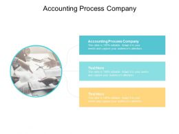 Accounting Process Company Ppt Powerpoint Presentation Layouts Graphic Tips Cpb
