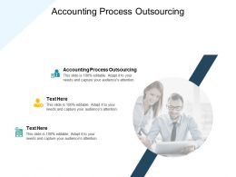 Accounting Process Outsourcing Ppt Powerpoint Presentation Summary Cpb