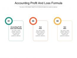 Accounting Profit And Loss Formula Ppt Powerpoint Presentation Infographic Template Styles Cpb