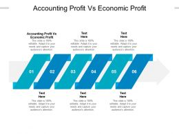 Accounting Profit Vs Economic Profit Ppt Powerpoint Presentation Model Inspiration Cpb