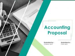 Accounting Proposal Powerpoint Presentation Slides