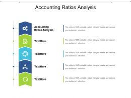 Accounting Ratios Analysis Ppt Powerpoint Presentation Gallery Information Cpb