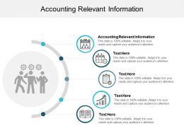 Accounting Relevant Information Ppt Powerpoint Presentation Diagram Graph Charts Cpb