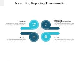 Accounting Reporting Transformation Ppt Powerpoint Presentation File Microsoft Cpb