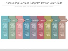 Accounting Services Diagram Powerpoint Guide