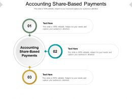 Accounting Share Based Payments Ppt Powerpoint Presentation Model Vector Cpb
