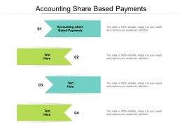 Accounting Share Based Payments Ppt Powerpoint Presentation Pictures Design Templates Cpb