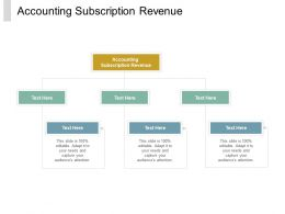 Accounting Subscription Revenue Ppt Powerpoint Presentation Inspiration Gallery Cpb