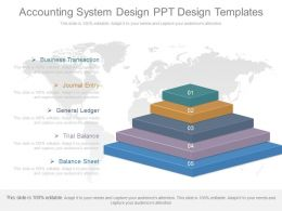 Accounting System Design Ppt Design Templates