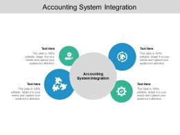 Accounting System Integration Ppt Powerpoint Presentation Summary Cpb