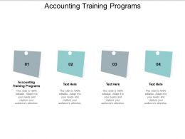 Accounting Training Programs Ppt Powerpoint Presentation Slide Cpb