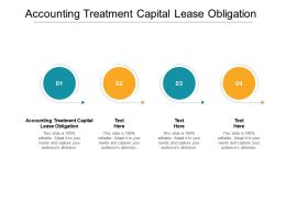 Accounting Treatment Capital Lease Obligation Ppt Powerpoint Presentation Model Maker Cpb