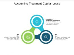 Accounting Treatment Capital Lease Ppt Powerpoint Presentation Slides Guidelines Cpb