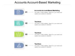 Accounts Account Based Marketing Ppt Powerpoint Presentation File Good Cpb