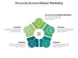 Accounts Account Based Marketing Ppt Powerpoint Presentation Icon Cpb
